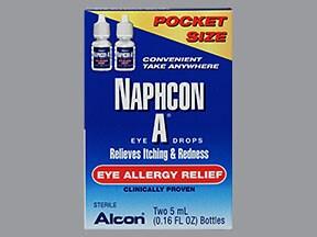 Naphcon-A 0.025 %-0.3 % eye drops
