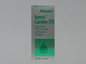 Isopto Carpine 2 % eye drops