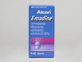 Emadine 0.05 % eye drops