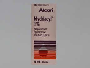 Mydriacyl 1 % eye drops