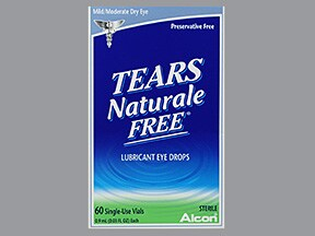 Tears Naturale Free (PF) 0.1 %-0.3 % drops in a dropperette