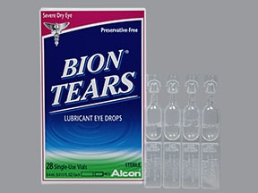 Bion Tears Pf Uses Side Effects Interactions