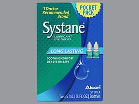 Systane (propylene glycol) 0.4 %-0.3 % eye drops
