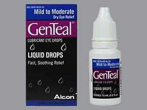 GenTeal  Mild to Moderate 0.3 % eye drops