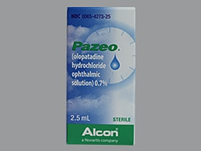 Pazeo Ophthalmic (Eye) : Uses, Side Effects, Interactions