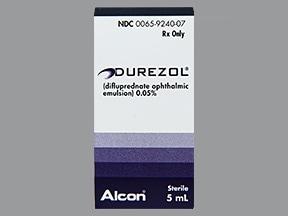 Durezol 0.05 % eye drops