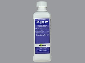 AP-Hist DM 4 mg-7.5 mg-15 mg/5 mL oral liquid