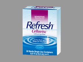 Refresh Celluvisc 1 % eye gel in a dropperette