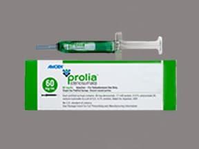 Prolia 60 mg/mL subcutaneous syringe