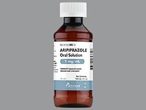 aripiprazole 1 mg/mL oral solution