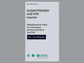 Ddavp Side Effects Hyponatraemia