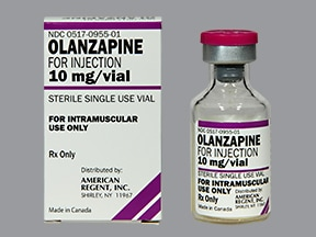 olanzapine 10 mg intramuscular solution