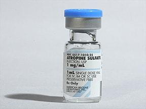 atropine 1 mg/mL injection solution