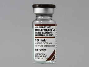 Multitrace-5 4-400-100-20 mcg-1000 mcg/mL intravenous solution