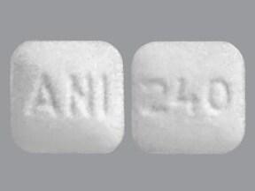 methazolamide 25 mg tablet