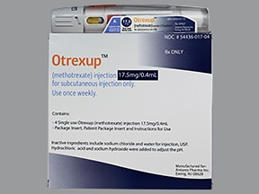 Otrexup (PF) 17.5 mg/0.4 mL subcutaneous auto-injector