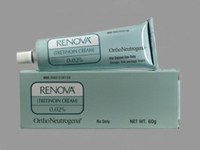 Renova 0.02 % topical cream