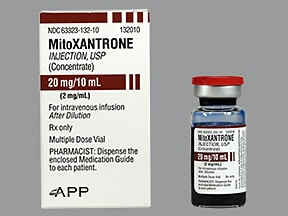 mitoxantrone 2 mg/mL concentrate,intravenous