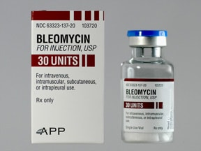 bleomycin 30 unit solution for injection