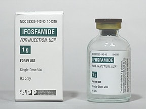 ifosfamide 1 gram intravenous solution