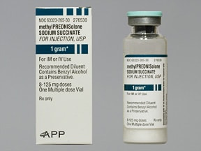 methylprednisolone sodium succinate 1,000 mg intravenous solution