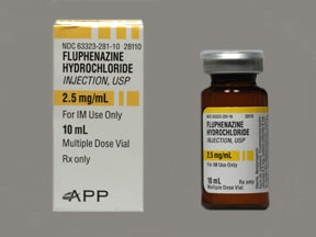 fluphenazine 2.5 mg/mL injection solution