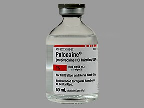 Polocaine 1 % (10 mg/mL) injection solution
