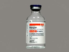 Naropin (PF) 2 mg/mL (0.2 %) injection solution