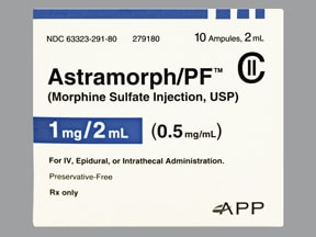 Astramorph-PF 0.5 mg/mL injection solution