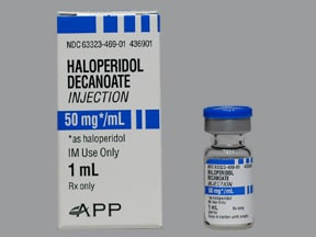 haloperidol decanoate 50 mg/mL intramuscular solution