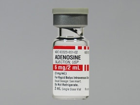 adenosine 3 mg/mL intravenous solution