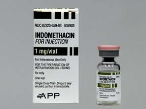 Indomethacin Intravenous Uses Side Effects