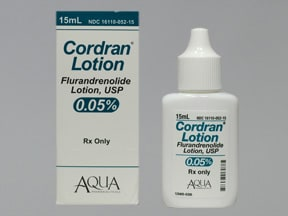 Cordran 0.05 % lotion