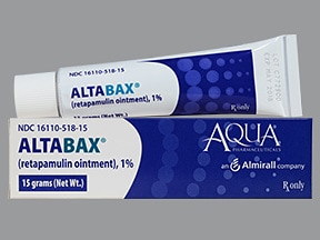 Altabax 1 % topical ointment