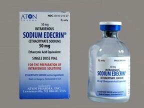 Sodium Edecrin 50 mg intravenous solution