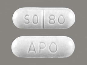 sotalol 80 mg tablet