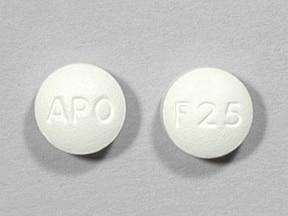 fluvoxamine 25 mg tablet