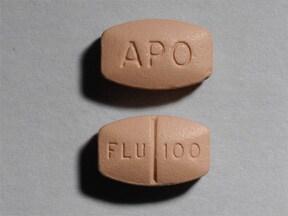 fluvoxamine 100 mg tablet