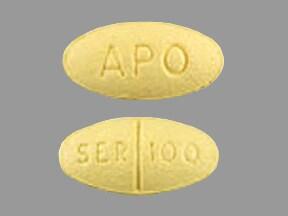 sertraline 100 mg tablet