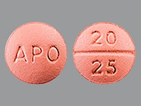 benazepril 20 mg-hydrochlorothiazide 25 mg tablet