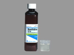 ranitidine 15 mg/mL syrup