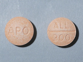 allopurinol 300 mg tablet