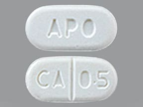 cabergoline 0.5 mg tablet