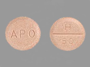 hydrochlorothiazide 50 mg tablet
