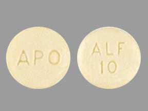 alfuzosin ER 10 mg tablet,extended release 24 hr