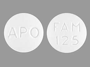 famciclovir 125 mg tablet