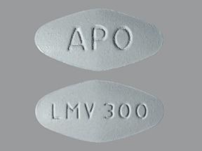 lamivudine 300 mg tablet
