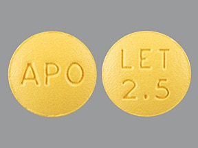 letrozole 2.5 mg tablet
