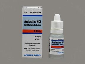 azelastine 0.05 % eye drops