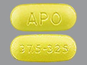 tramadol 37.5 mg-acetaminophen 325 mg tablet